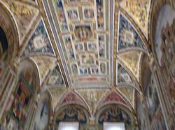 Fresques de Pinturicchio