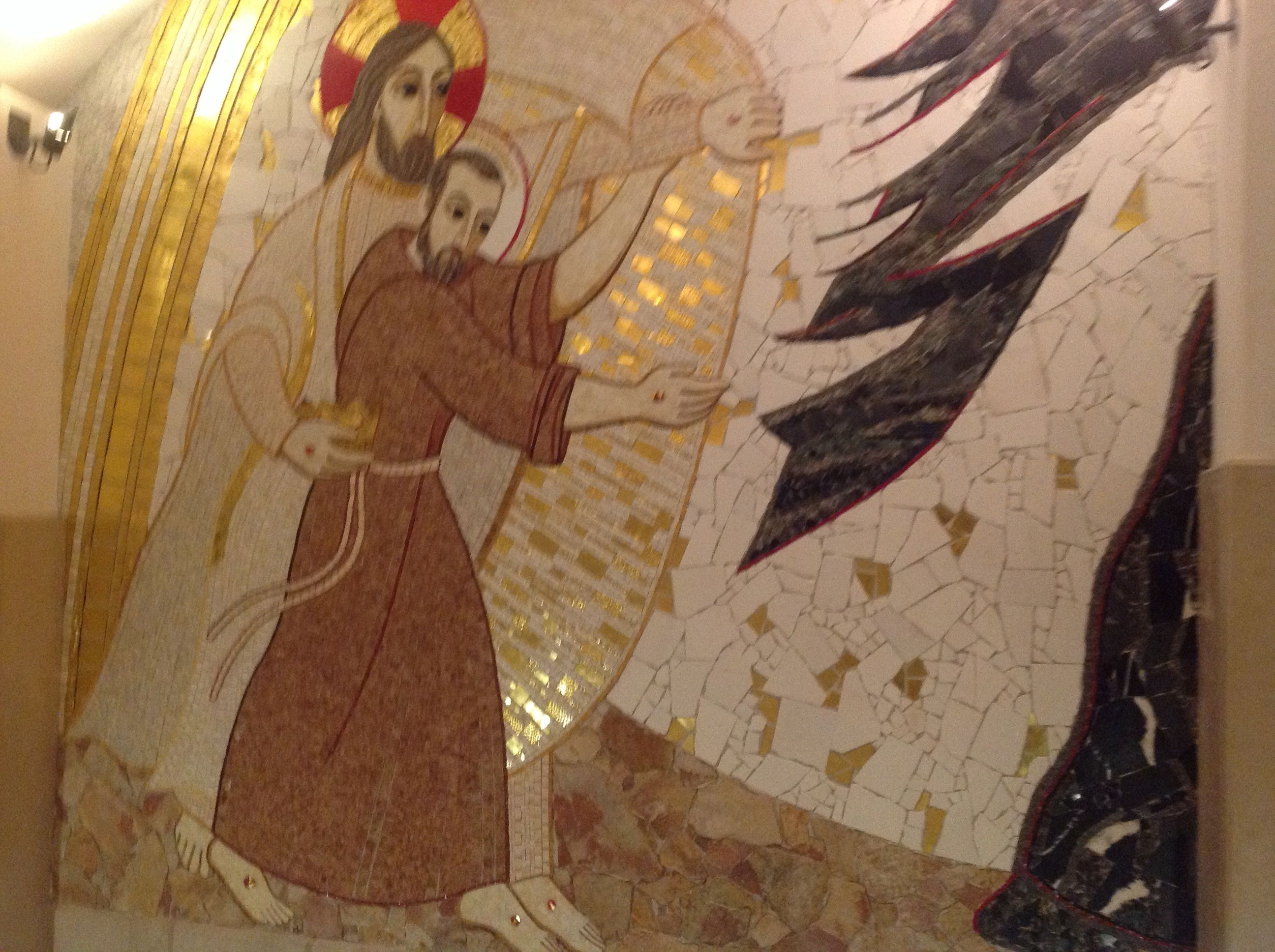 Fresque Basilique inférieure
