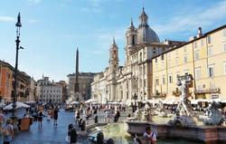 Place-Navone-Piazza-Navona-à-Rome