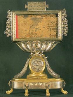 Reliquaire du Titulus Crucis
