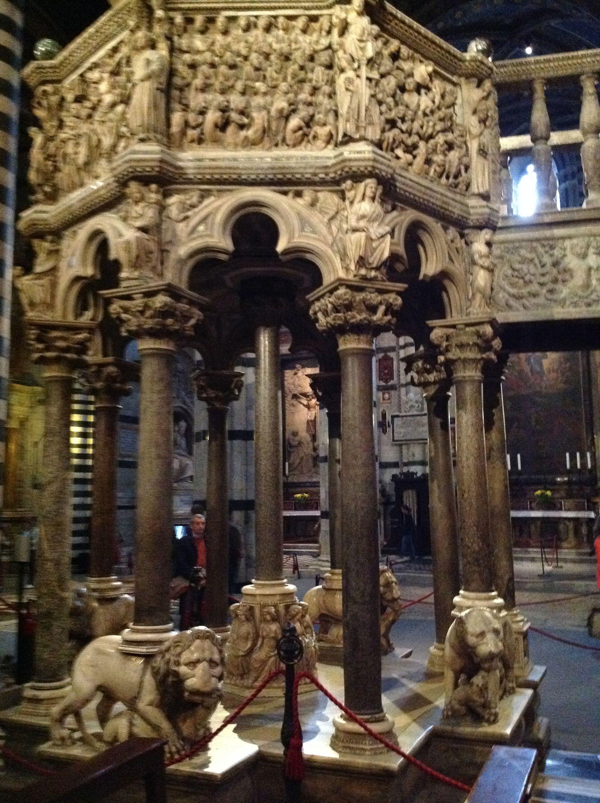Pulpito du dôme de Sienne