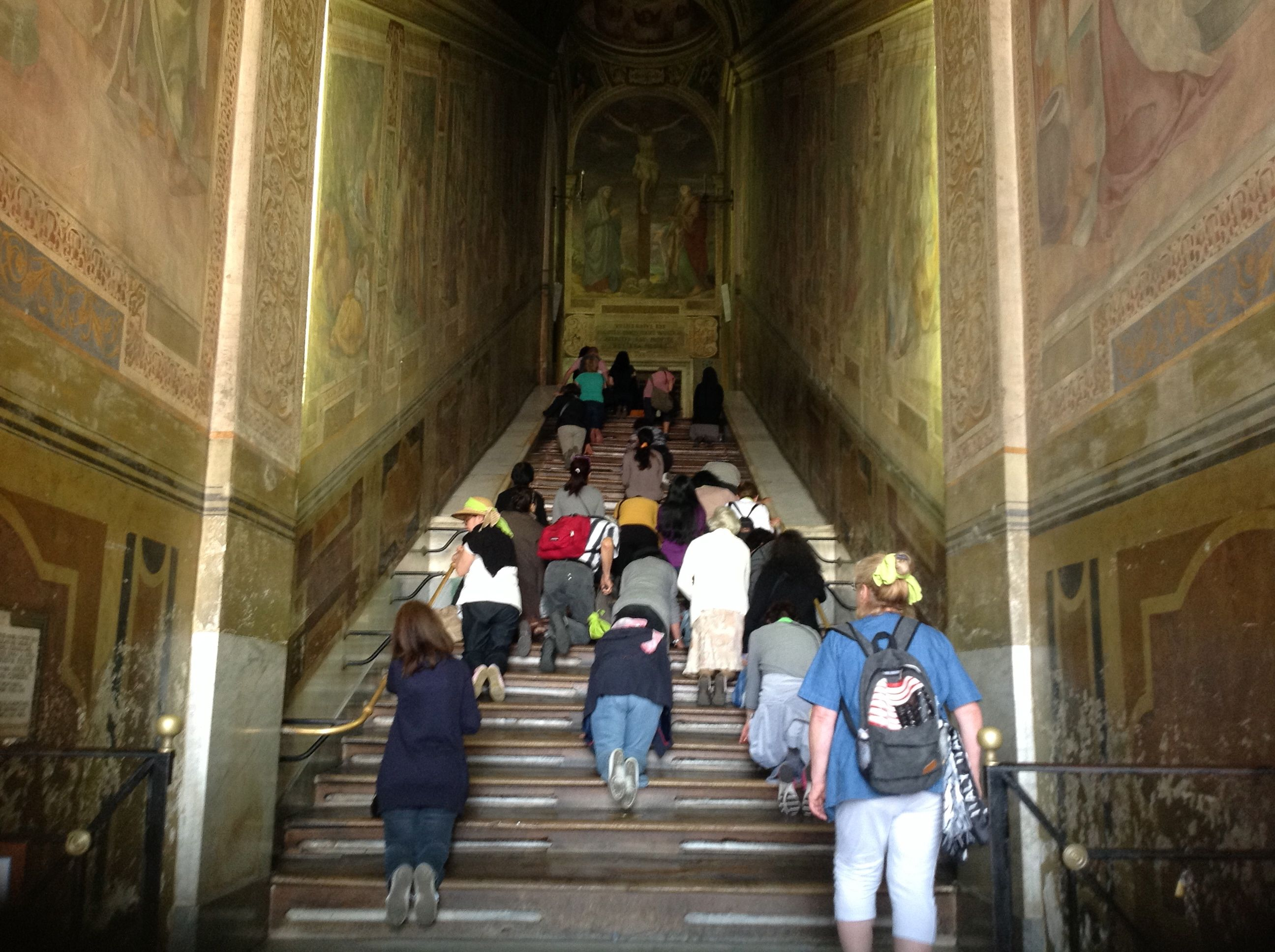 Le Saint Escalier