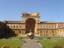 Cours du Musée du Vatican