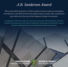 A.B. Sanderson Award