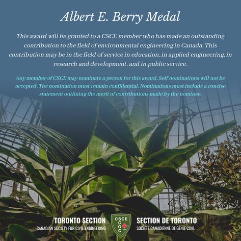 Albert E. Berry Medal