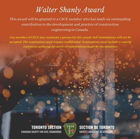 Walter Shanly Award