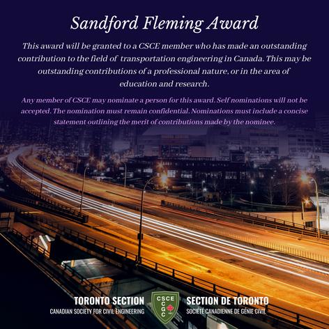 Sandford Fleming Award