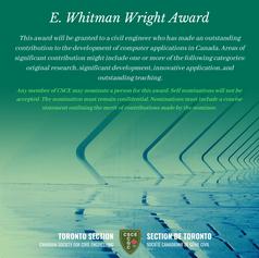 E. Whitman Wright Award