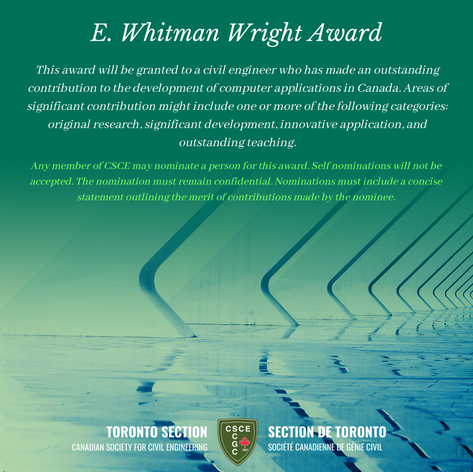 E. Whitman Wright Award