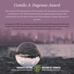 Camille A Dagenais Award
