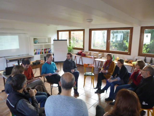 Formation intelligence collective - à l'intérieur de la ferme de la Clairvoie