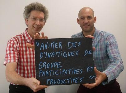 Animer des dynamiques de groupe particiatives et productives - Martin Boutry & Patrice Chartrain