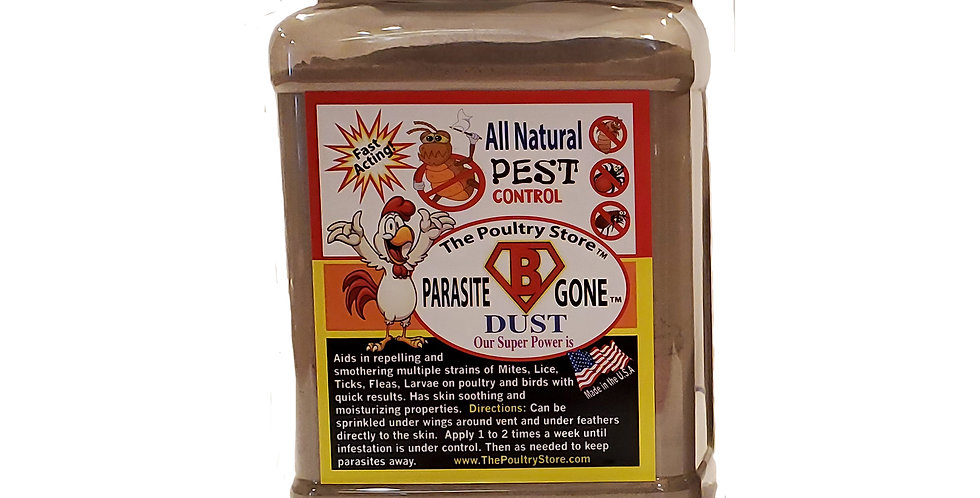 "Parasite ""B"" Gone Dust 34 oz."