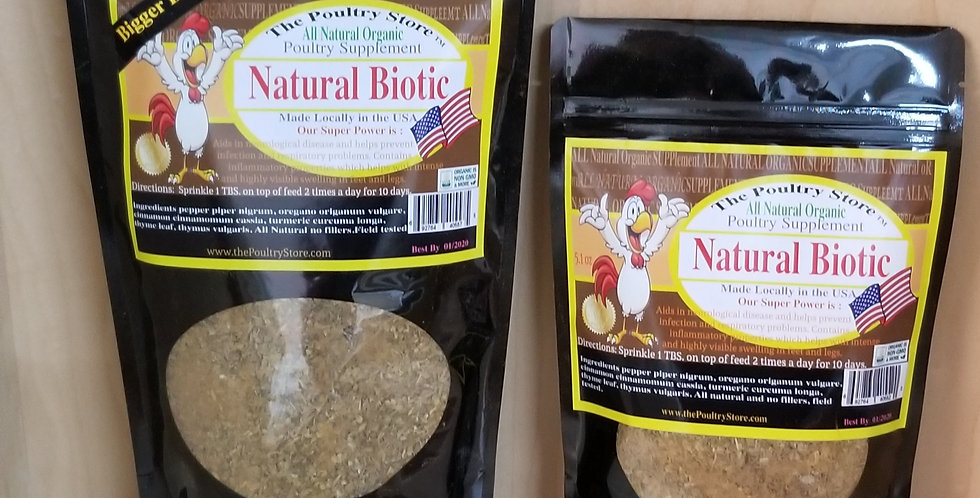 Natural Poultry- Biotic 16 oz.