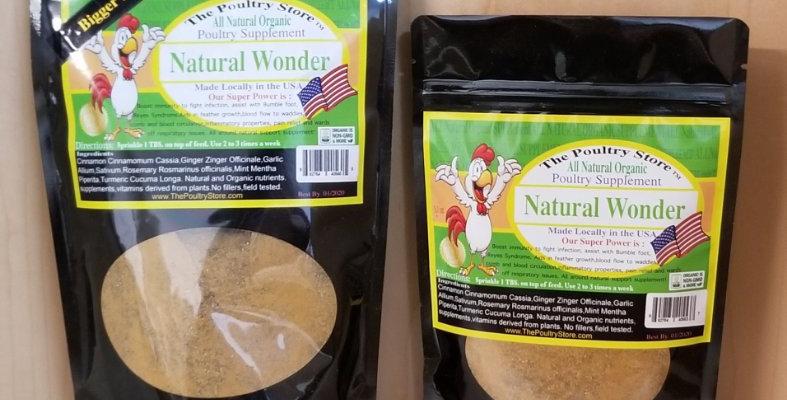 Natural Wonder Poultry Supplement 5.1 and 12 oz. bag
