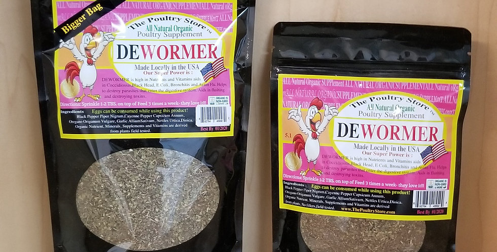 Natural DE-Wormer 16 oz.