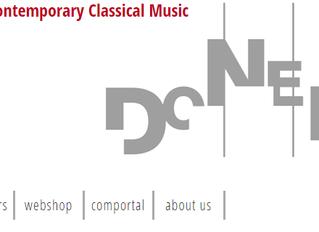 Donemus will be publishing Prometheus Cantata
