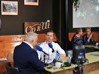 Interview in 'Op & Út', on Omrop Fryslân