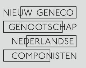 Composer @ Nieuw GeNeCo