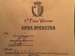 Malta International Composition Competition: 3rd Prize with 3rd Quartet