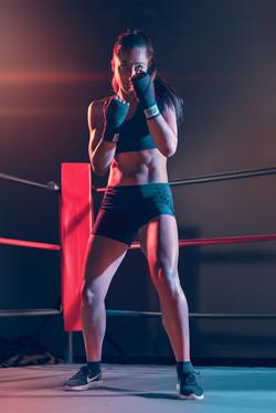 Female Boxing Athlete