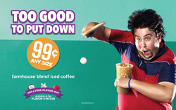 Cumberland Farms In-store Ad