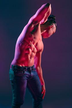 Male Physique Back