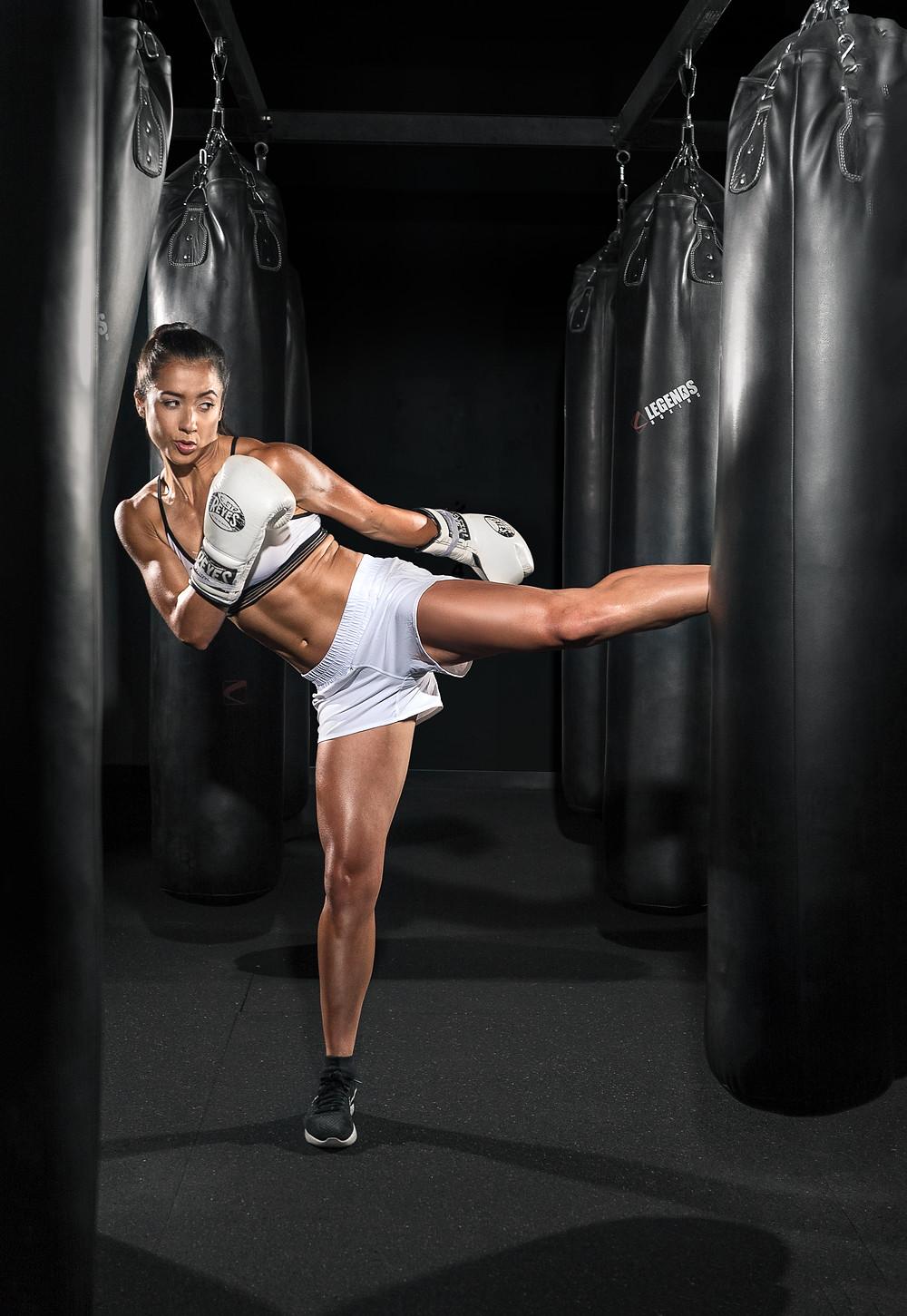 Sports Photography Kickboxing