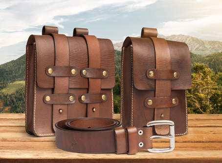 Product Photography - Leather Bags & Belts