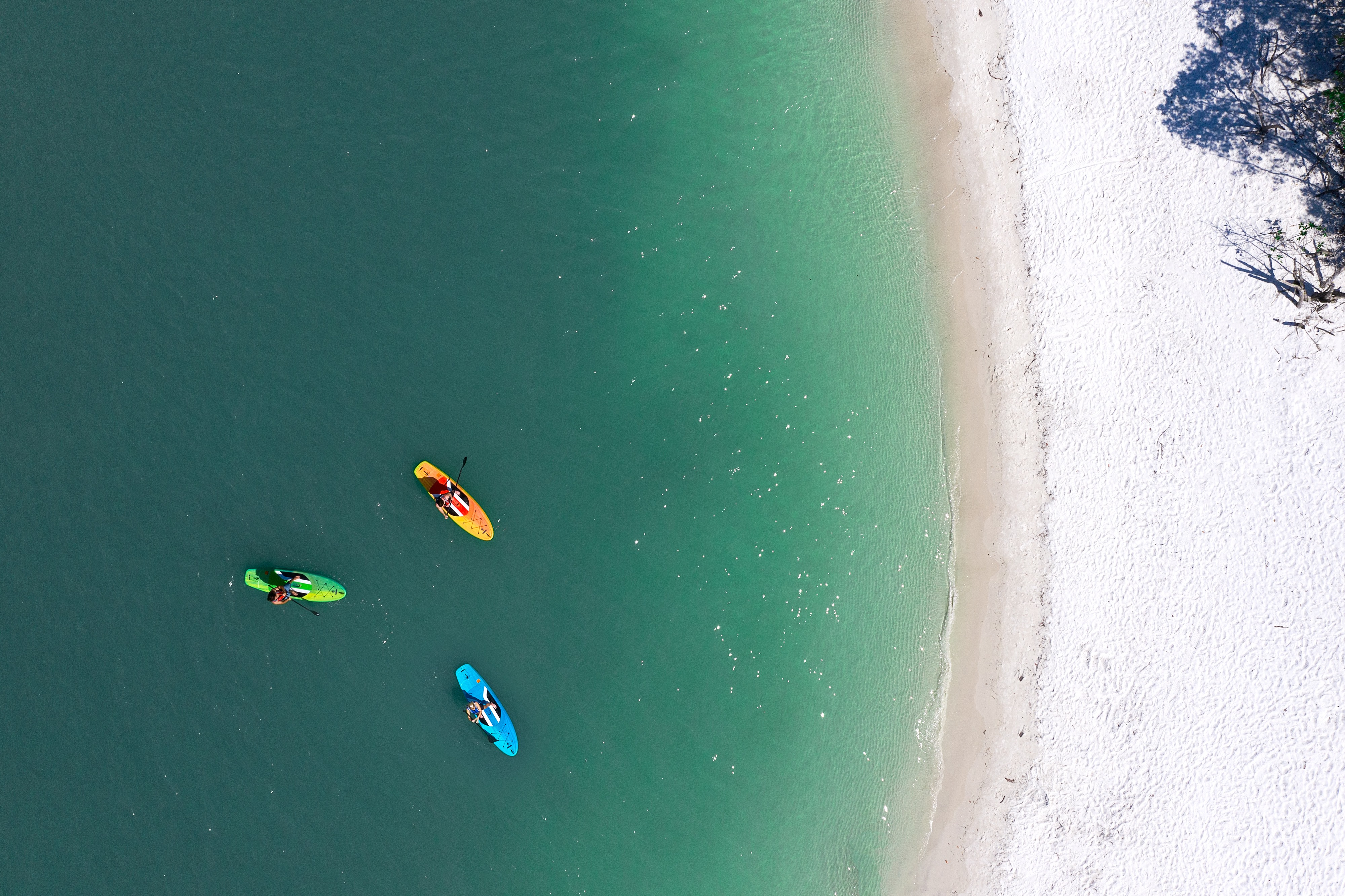 Arial Florida Paddleboards Lifestyle - Lifetime