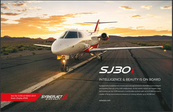Two-Page Ad in Jetset Magazine
