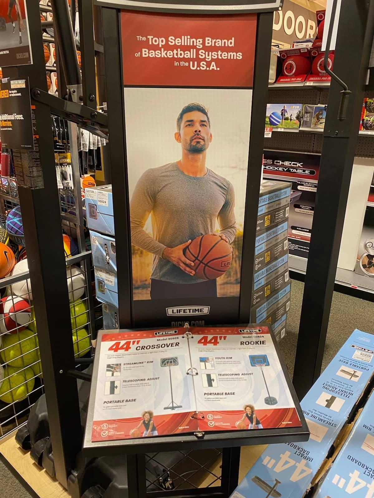 Basketball For Lifetime in Dick's Sporting Goods