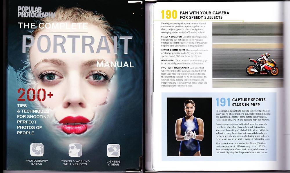Gymnast Printed in a PopPhoto book