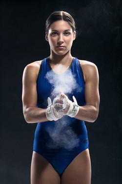 Editorial Portrait Gymnast