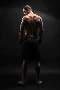 MMA Athlete Portrait