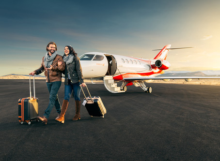 Lifestyle and Private Jet Interior Photo Shoot With Syberjet