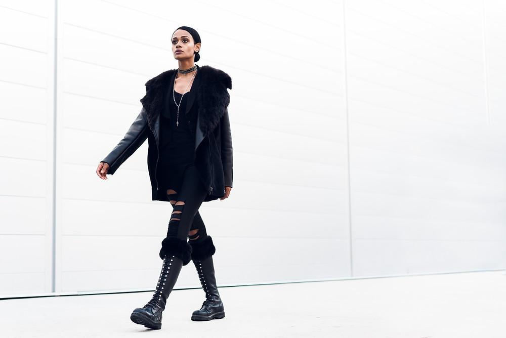 Fashion Walking Photo Angle