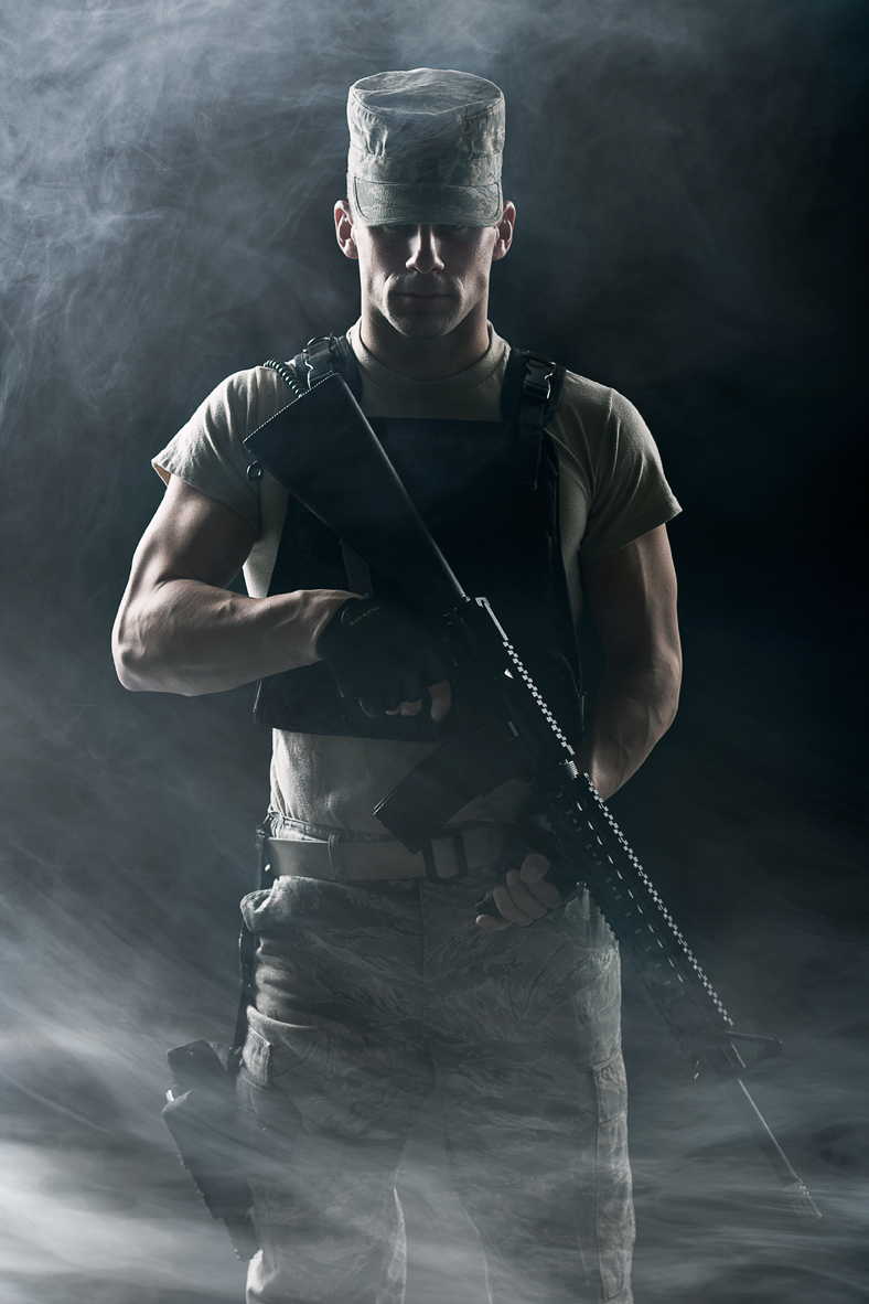 Photo of Military Soldier - Personal Work