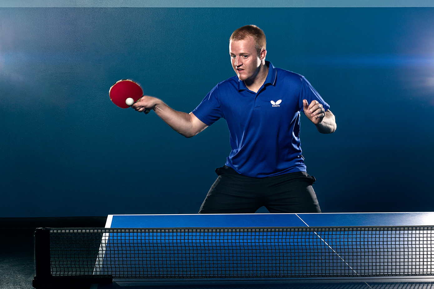 Table Tennis Action - Personal
