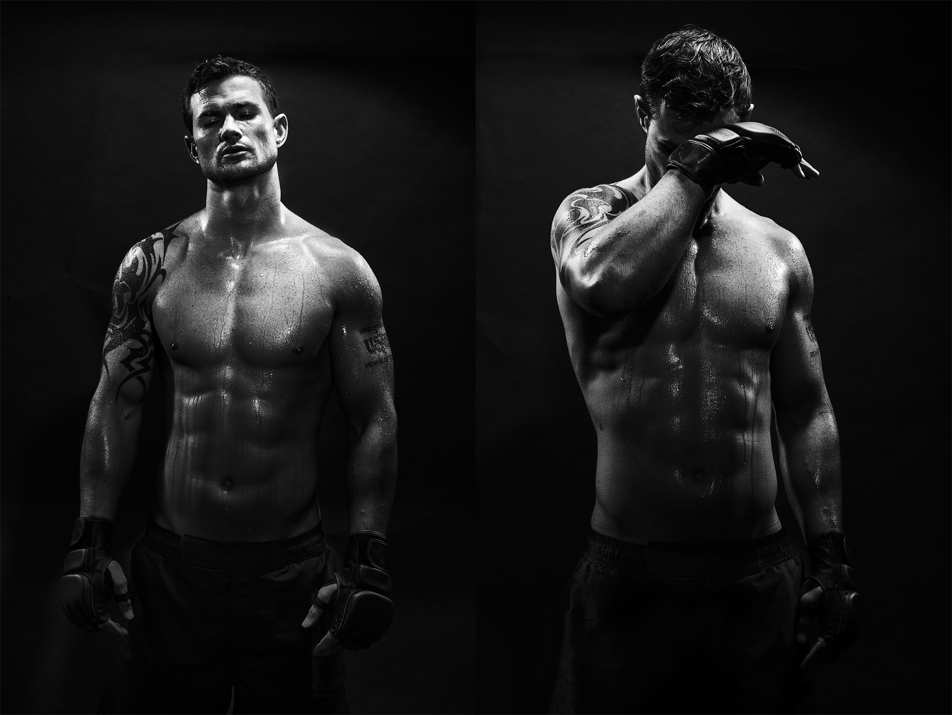 MMA Athlete Portrait - Personal