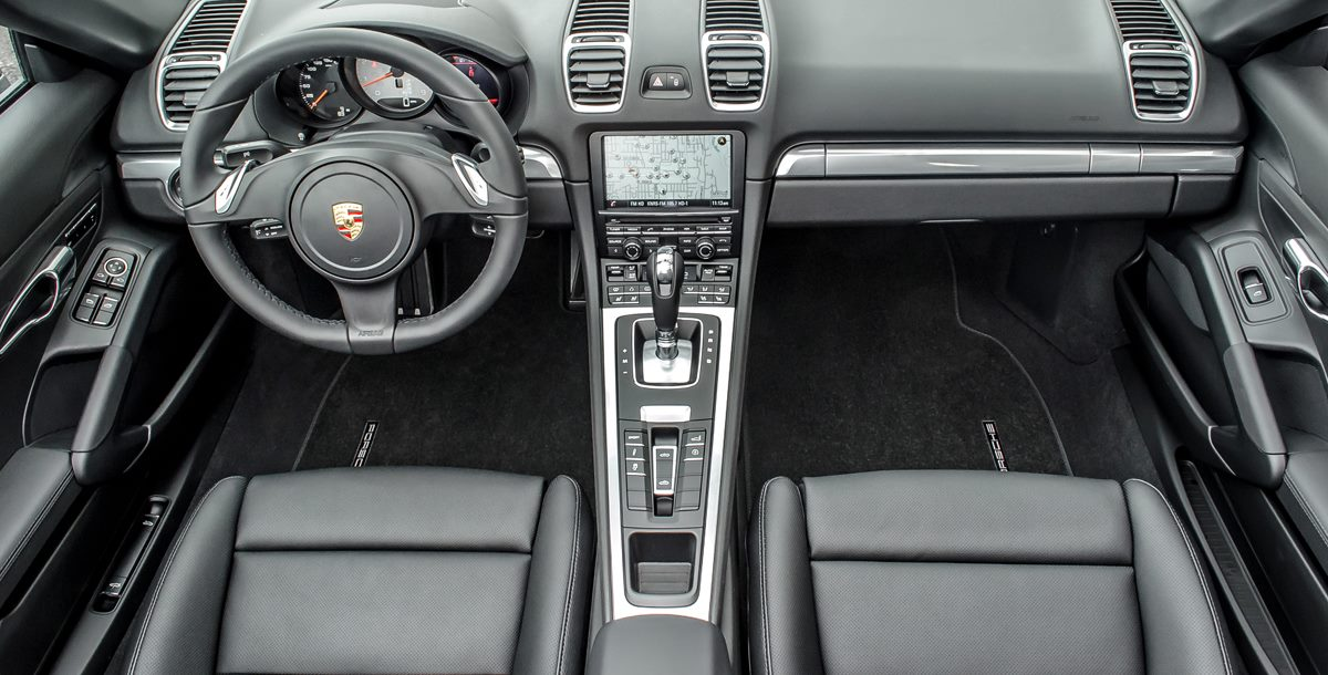 Porsche Interior Photography