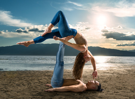 Acro-Yoga Photo Shoot