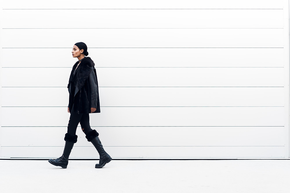Fashion Profile Photo Walking