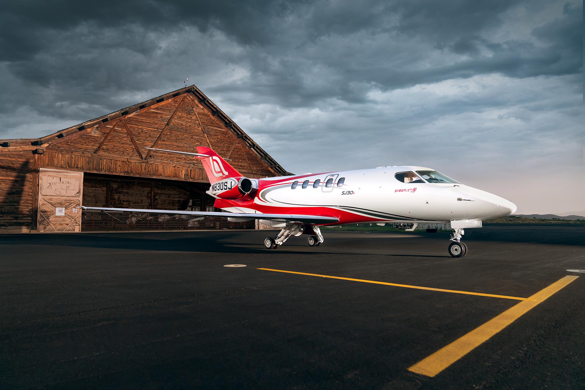 Stormy Jet Hangar