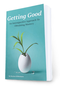 Getting Good: My Book