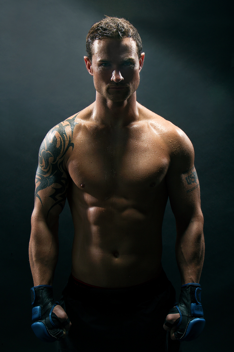 MMA Athlete Portrait