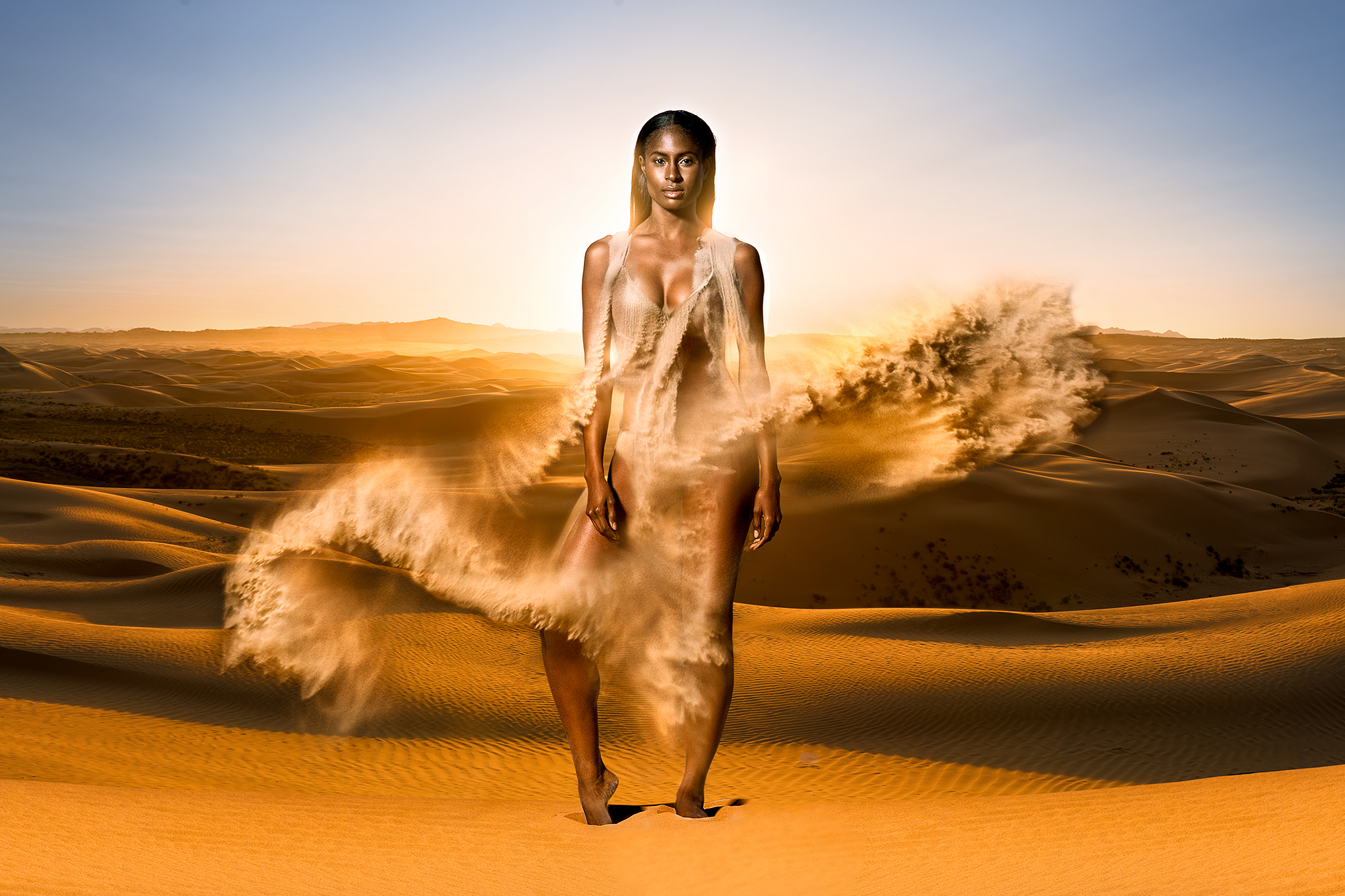 Desert Sand Concept Photo - Personal Work