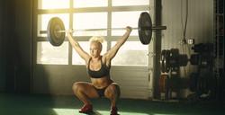 Crossfit Female Athlete Action