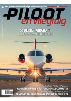 Cover of Piloot en Vliegtuig Magazine