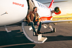 Jet Owner Sitting